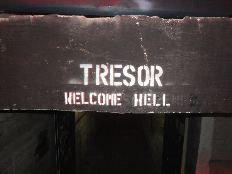 Tresor tunnel entrance