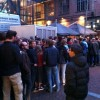 The queue when I arrived